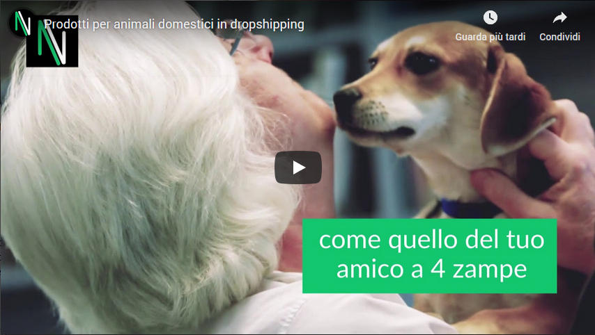 video prodotti animali dropshipping