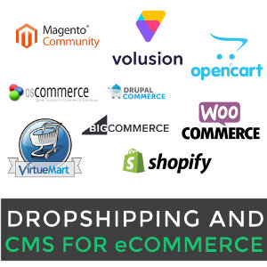 CMS for eCommerce in Drop Shipping