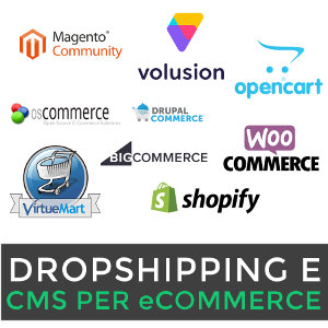 I CMS per l'eCommerce in Drop Shipping