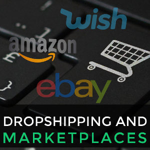 The main global marketplaces where you can sell in Drop Shipping