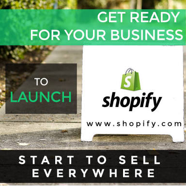 Start to sell everywhere thanks to Shopify